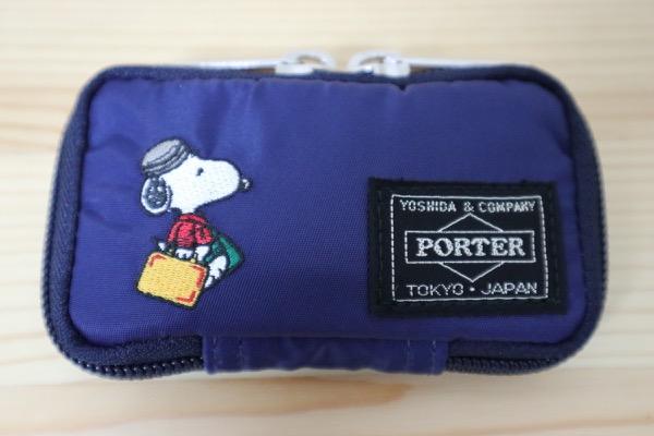 JOE PORTERのキーケースはスヌーピーコラボでかわいい!コンパクトで使いやすい【ジョーポーター 622-07138】