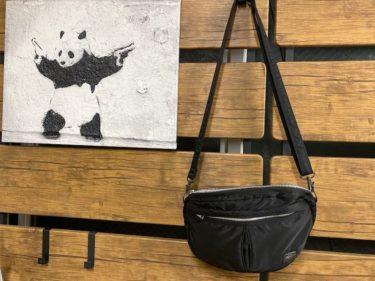 PORTERタンカーのショルダーバッグはデザインがかわいく誰にでも何にでも合うカバン【ポーター愛用品レビュー703-06302】